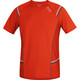 GORE RUNNING WEAR Mythos 6.0 Shirt Men orange/black iris